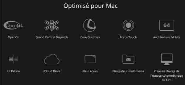 Optimisations Affinity Photo macOS OSX