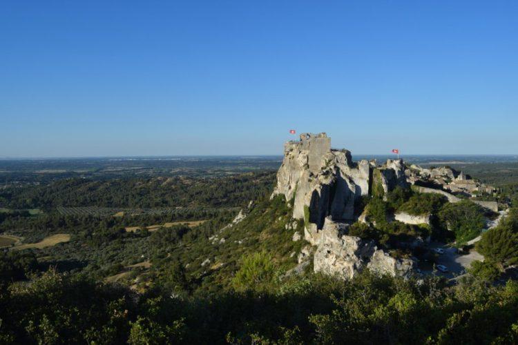 Vue panoramique depuis les Baux-de-Provence