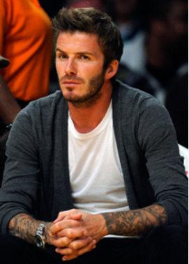 David Beckham Verpasst Moderator Neue Frisur Top Story