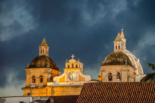 Old Town Cartagena by Night