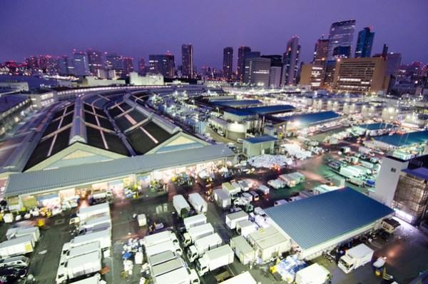 Japanese Food: Huge seafood industry -- Tsukiji Market, Tokyo