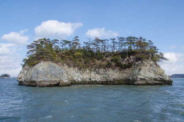 The islands of Matsushima Bay, Japan