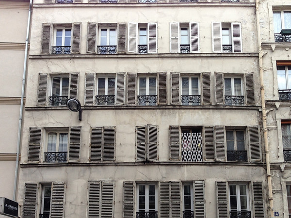 Windows of Montmartre, Paris