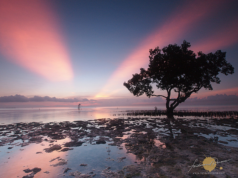 image of sunrise in Palawan, Philippines