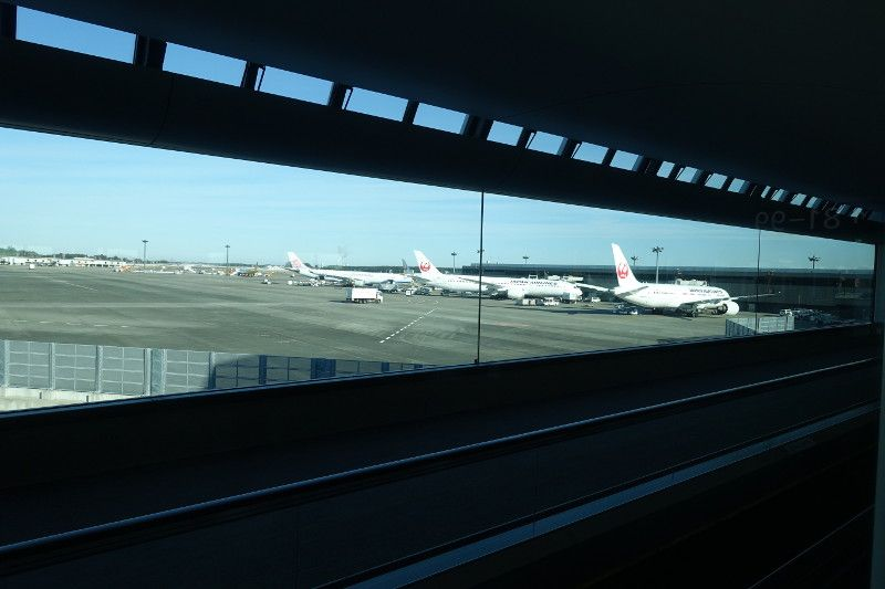Review of Cathay Pacific flight from Tokyo to Hong Kong in Business