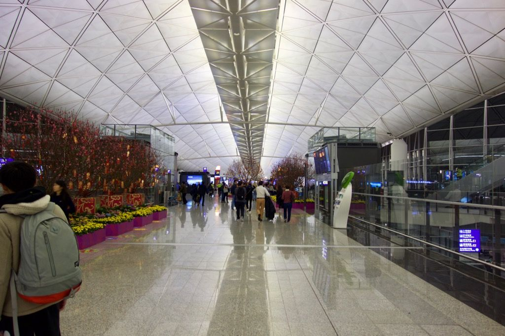 Review of Korean Air flight from Hong Kong to Seoul in Business