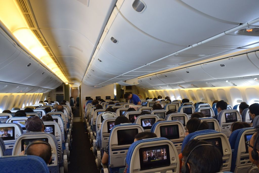 Review of Cathay Pacific flight from Hong Kong to Taipei in Economy