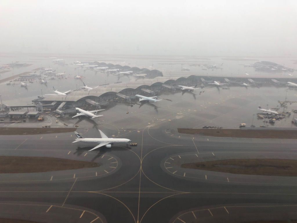 Review of Cathay Pacific flight from Hong Kong to Tokyo in First