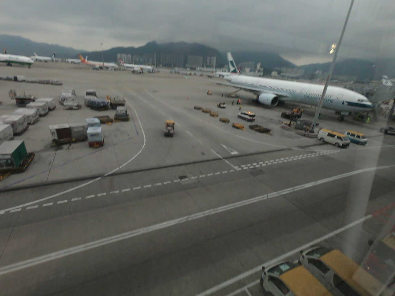 Review of Cathay Pacific flight from Cebu to Hong Kong in Economy