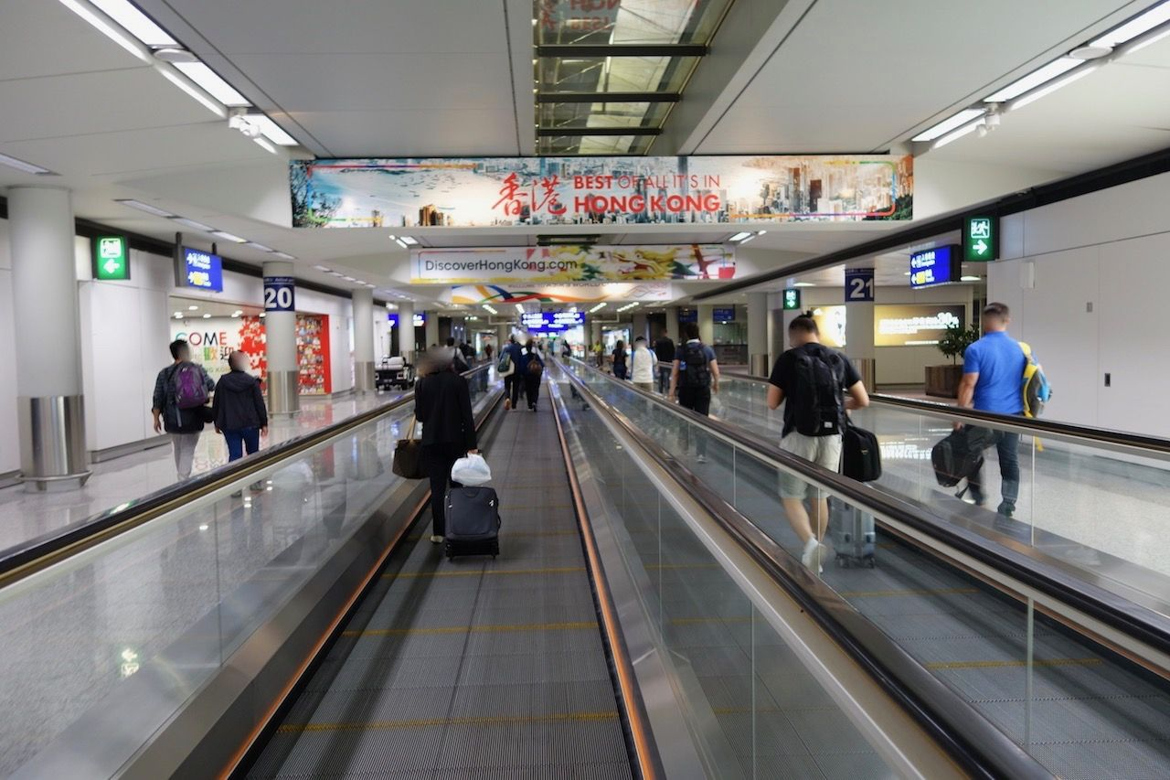 Review of Cathay Pacific flight from Newark to Hong Kong in Business