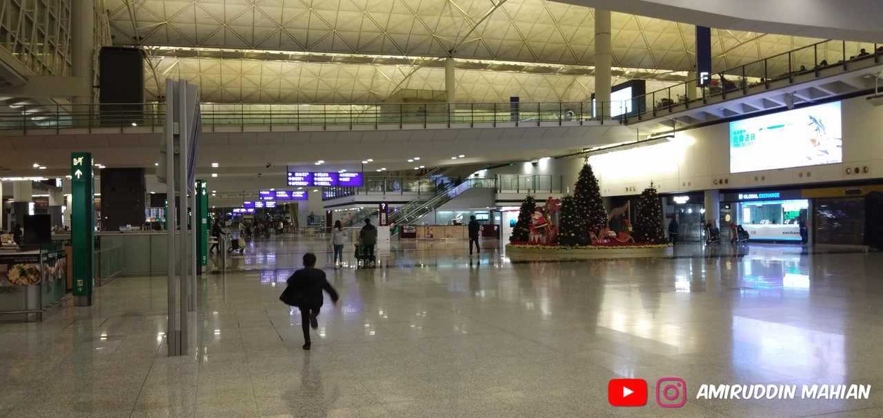 Review of Hong Kong Express Airways flight from Seoul to Hong Kong in Economy