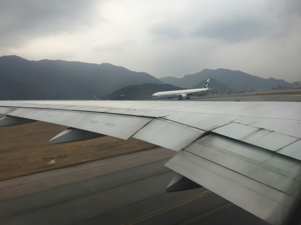 Review of Asiana Airlines flight from Hong Kong to Seoul in Economy
