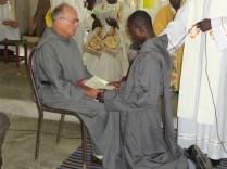 Profession du Fr Emmanuel