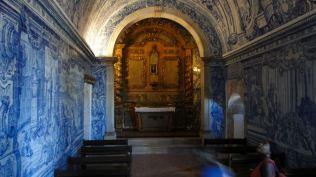 La petite chapelle du château avec ses azulejos