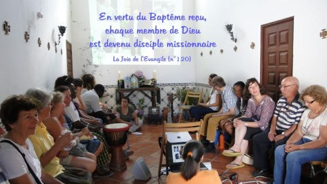 """Réflexion sur """"disciple - missionnaire"""""""