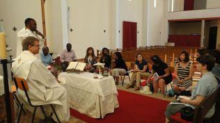 Messe avec le Padre Geralde