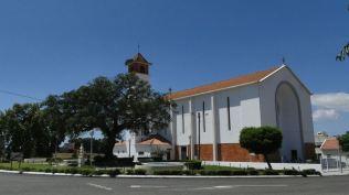 Eglise d'Aguas de Moura où vivaient les soeurs des campagnes