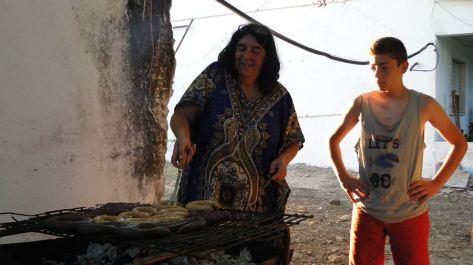 Felisbela prépare le repas