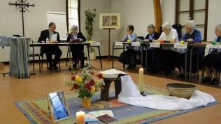 Election de la Prieure Générale avec Mgr Nahmias