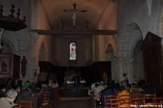Dans l'église de Gastin