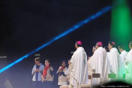 Mardi, messe avec témoignage de jeunes qui reçoivent le sacrement des malades