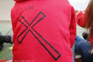 Les sweats rouges de notre pôle !