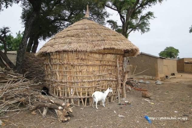Grenier : réserve des récoltes
