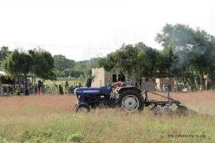 Les tracteurs ne chôment pas..
