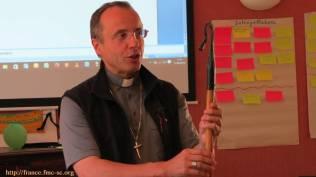 Nous accueillons l'évêque de Pamiers
