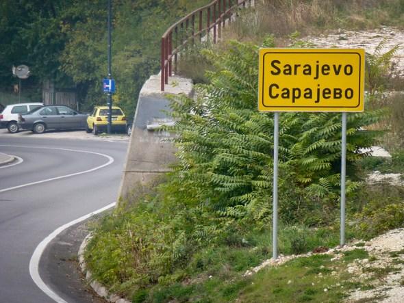 sarajevo sign