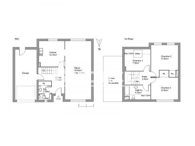 appartement meuble 5 pieces a louer lanester 56600 94 2 m2 foncia