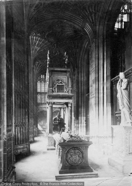 London Westminster Abbey Tomb Of Mary Queen Of Scots c