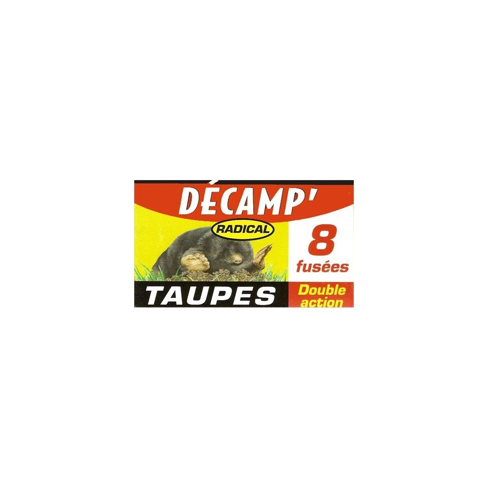 anti taupes 8 fusees decamp