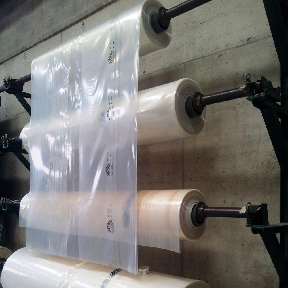 bache polyethylene transparente 6 x 10 m