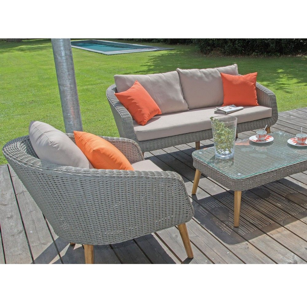 Best Salon De Jardin Bas Resine Tressee Orbetello Photos - House ...