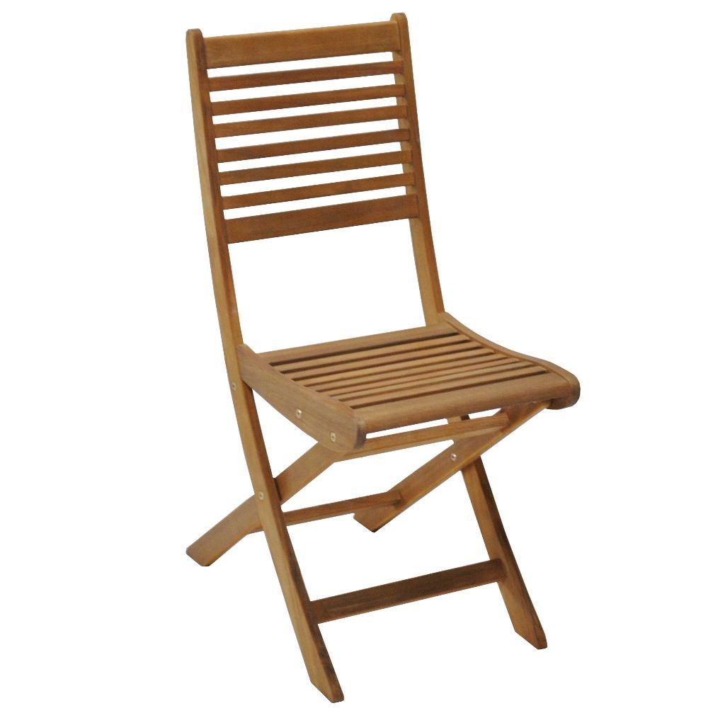 chaises de jardin en bois pliante saturne