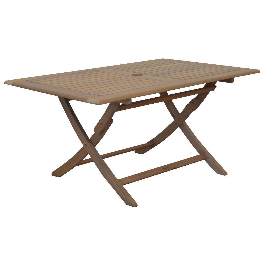 table de jardin en bois pliante sophie 110 cm x 70 cm