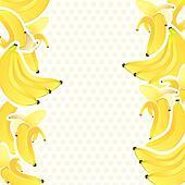 bananas clip art - royalty free