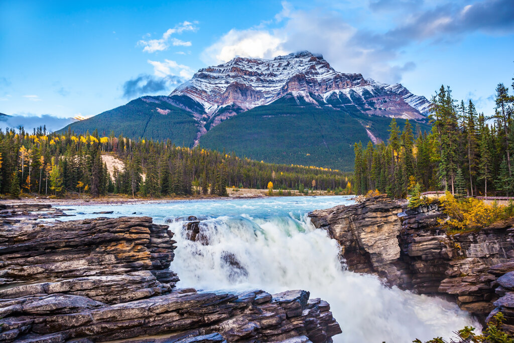 Majestic Fall Wallpaper Canadian Rockies By Rail