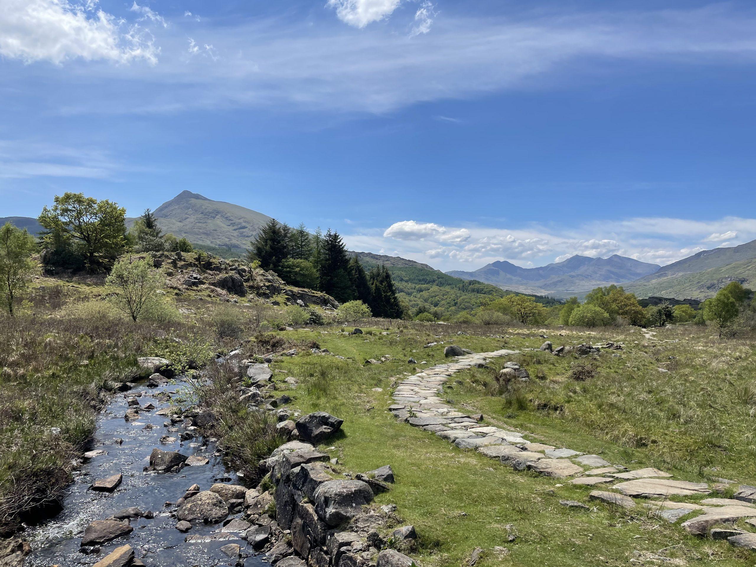 Path Through Snowdonia