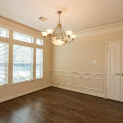 Picture Frame Moulding Below Chair Rail Covers And Sashes Hampshire 6323 Tierra Lake Ct Houston Tx 77041 The Dining Room Opens From Foyer Has Crown Molding With Rope Lighting Railing Double Doors That Open To