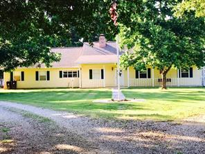 Great Country Home! This three bedroom, two bath home in Meadowview Subdivision is move in ready and has fencing for horses or cattle. A large, covered front porch opens to a tile entry that leads to a spacious living room with wood burning fireplace and built-ins. There is a formal dining room and the nice kitchen has a breakfast area and tile flooring. The master suite has a bath with shower and the hall bath boasts a shower/tub combo. All the bedrooms are carpeted and there is great storage throughout the home including storage closets in the hallway. The two car garage has a utility area and there is a screened in porch and additional covered porches on the back of the home-great for entertaining! There is also an exterior storage building. Come see!