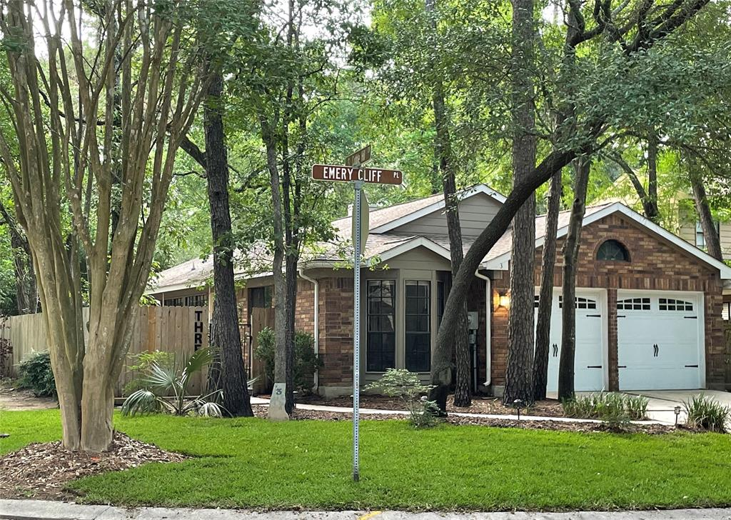 patio homes in the woodlands tx