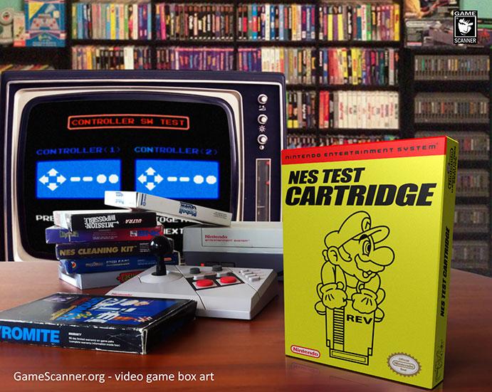 Nintendo NTFS Test Cartridge scene