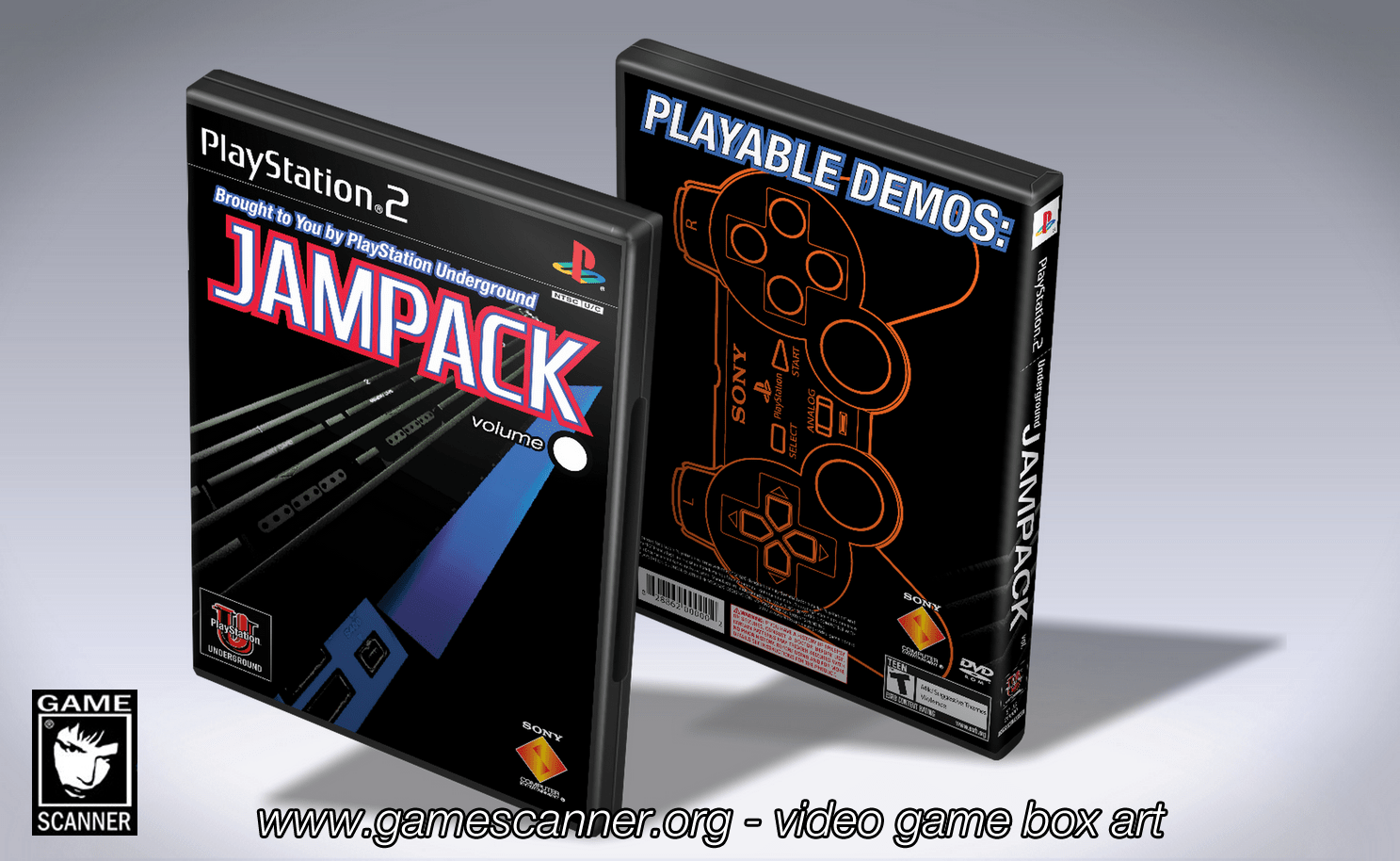PlayStation JamPack template