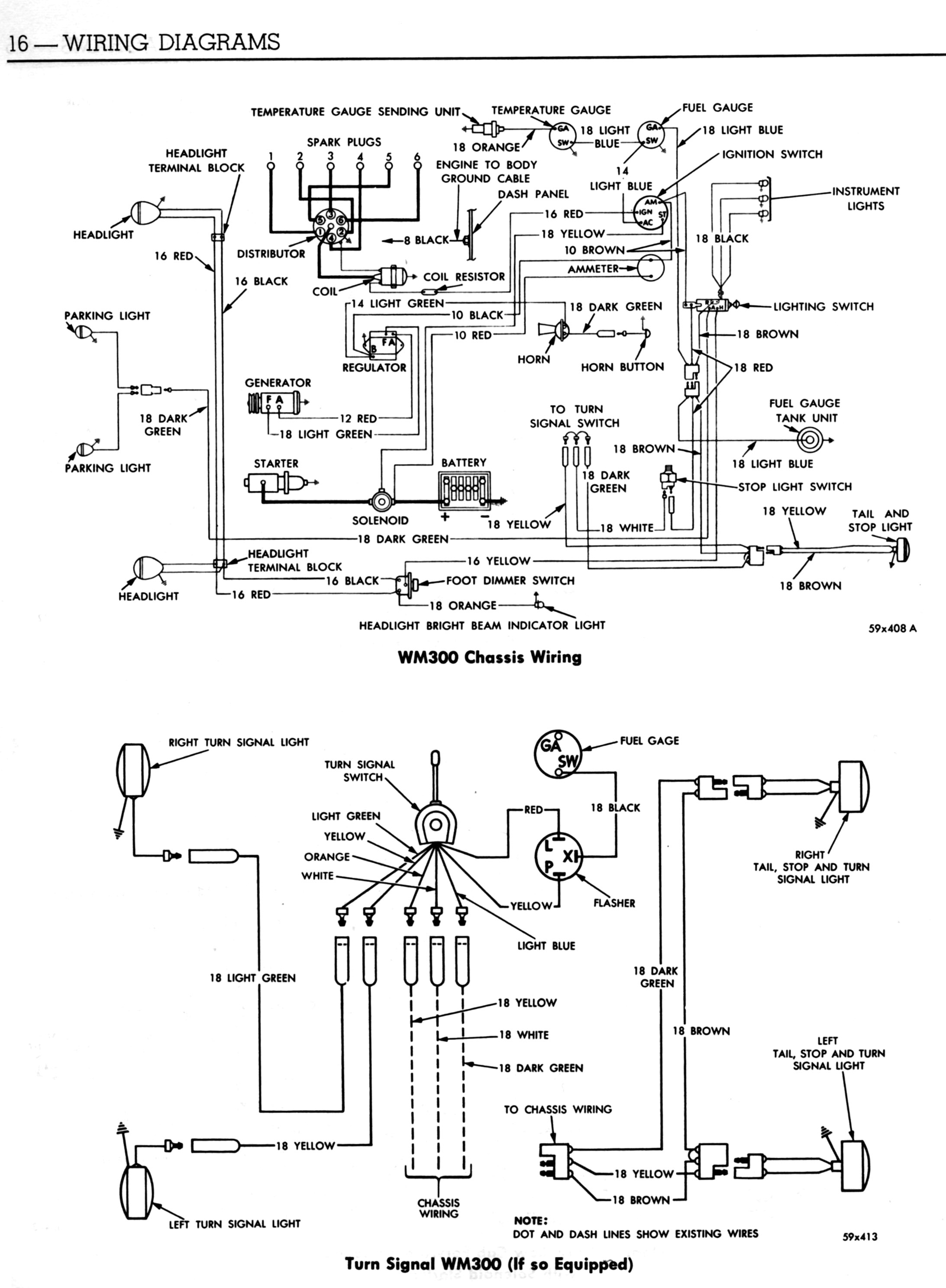 1960 WM300 Wiring Diagram