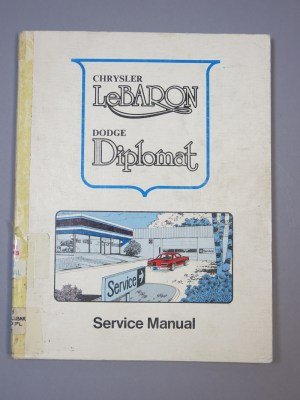 1977 Chrysler Le Baron Dodge Diplomat Car Service Shop