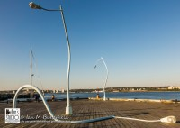 Photography by Ian M Butterfield | Halifax | Drunk lamp posts