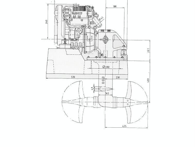 MOTOR DIESEL LOMBARDINI KOHLER LDW 502 SD (13 CV) SAIL