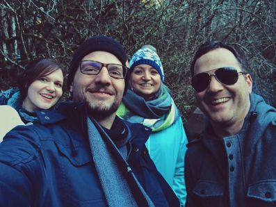 Trekking with the Saintons through Silver Falls State Park